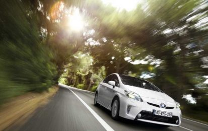 Toyota Prius 2012, premio 'Car of the Future Award'