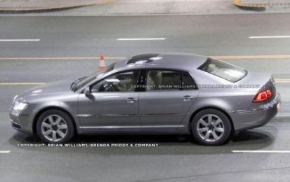 Volkswagen Phaeton: restyling in mostra a Pechino