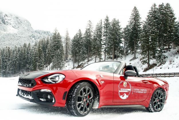 Abarth 124 Spider, design