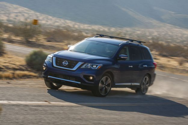 Nissan Pathfinder 2017: lo sbarco in America [FOTO]