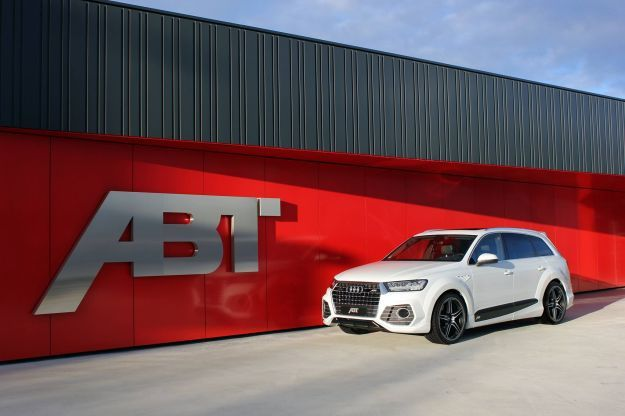 Audi ABT QS7, tuning: più cavalli e bodykit specifico