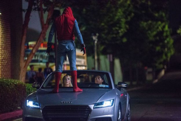 Audi Spiderman Homecoming