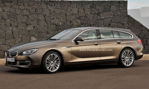 BMW Serie 6 Gran Coupé, forse anche station wagon