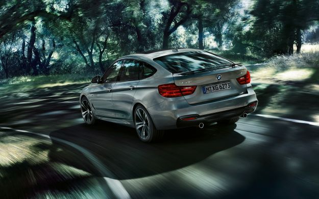 Bmw Serie 3 GT posteriore