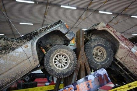 Carrara 4×4 Fest, salone dell'off road