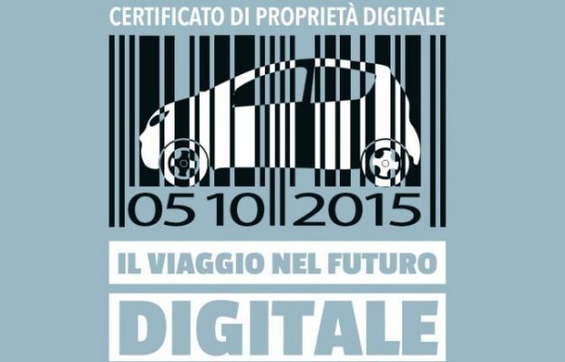 Certificato di proprietà digitale