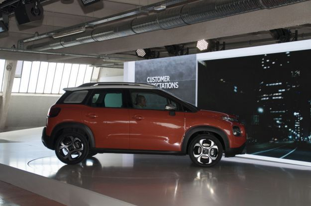 Citroen C3 Aircross dimensioni