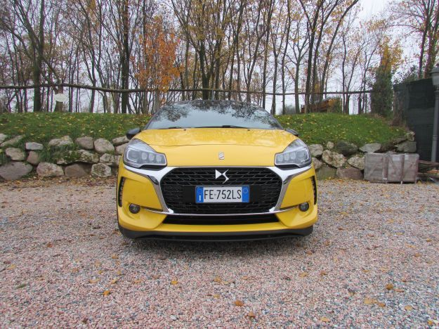 DS 3 Cabrio Performance prova su strada
