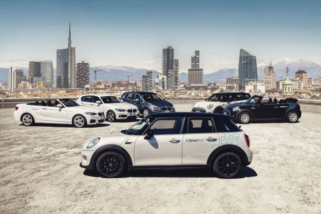 DriveNow, il car sharing nato dalla joint venture tra BMW Group