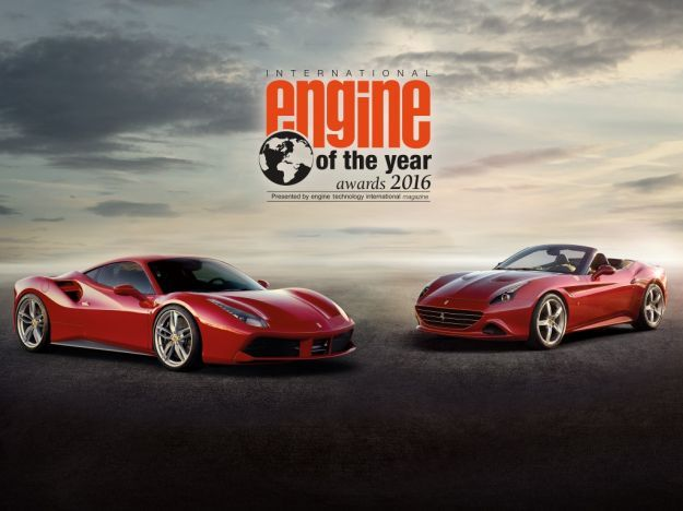 Ferrari, il V8 biturbo è International Engine of The Year 2016