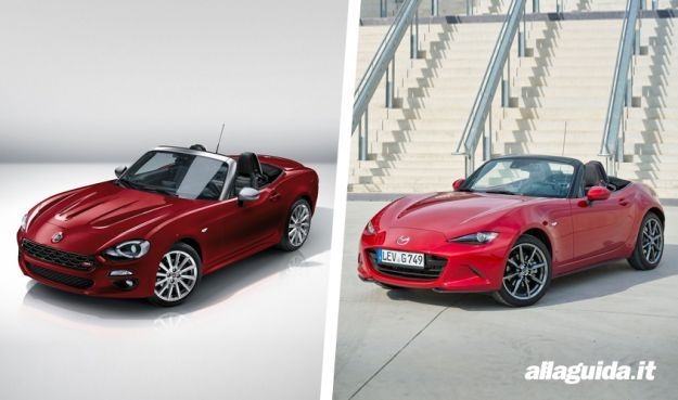 Fiat 124 Spider vs Mazda MX 5