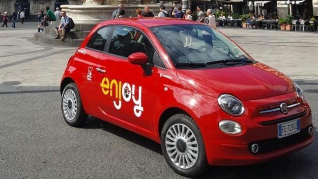 Fiat 500 restyling Enjoy