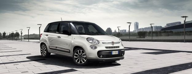 Fiat 500L prima classificata