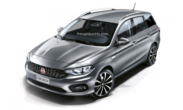 Fiat Aegea station wagon render
