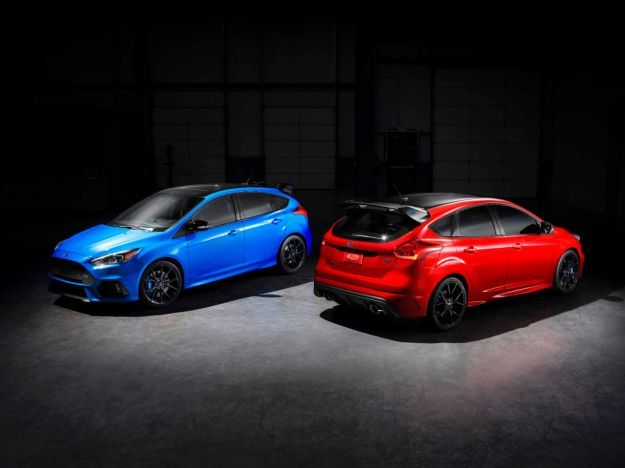 Ford Focus RS 2017 limited edition, scheda tecnica e tiratura [FOTO]