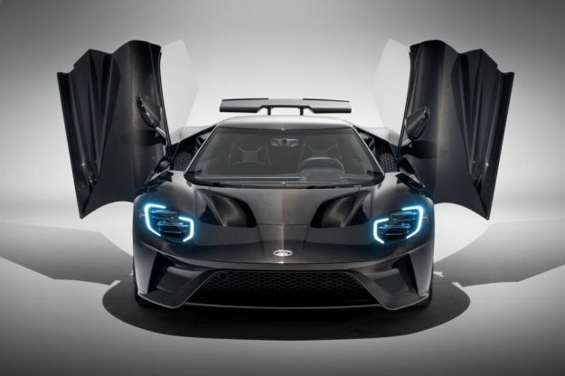 Ford GT Liquid Carbon Edition motore