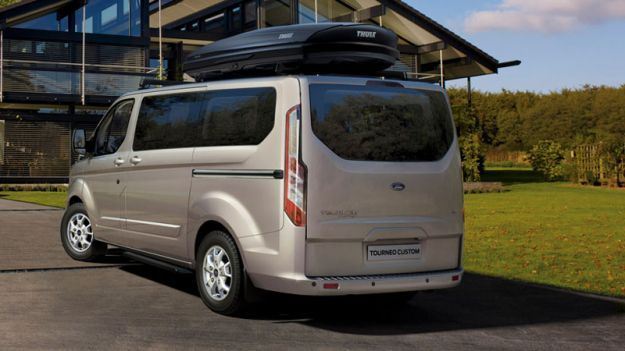 Ford Tourneo Custom, design