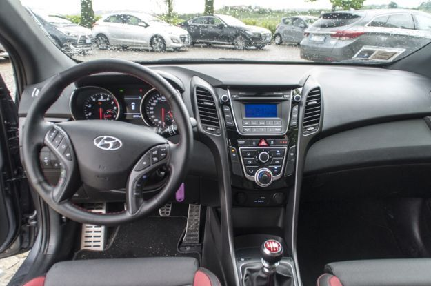 Hyundai i30 Turbo interni