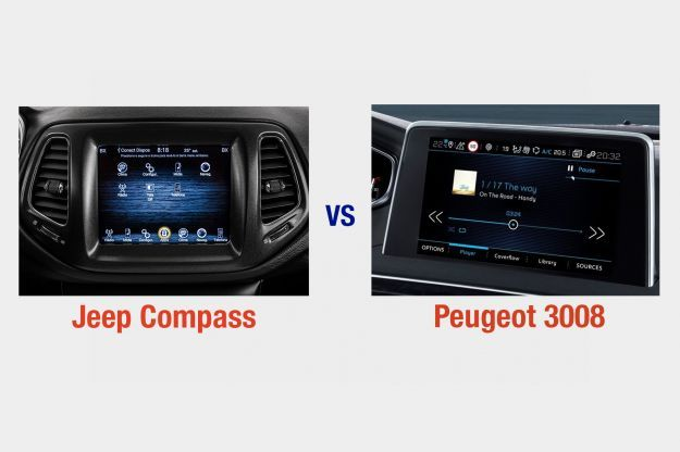 Jeep Compass vs Peugeot 3008