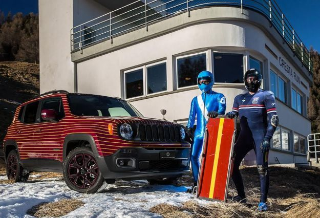 Jeep Renegade: modello unico dalla Garage Italia Customs