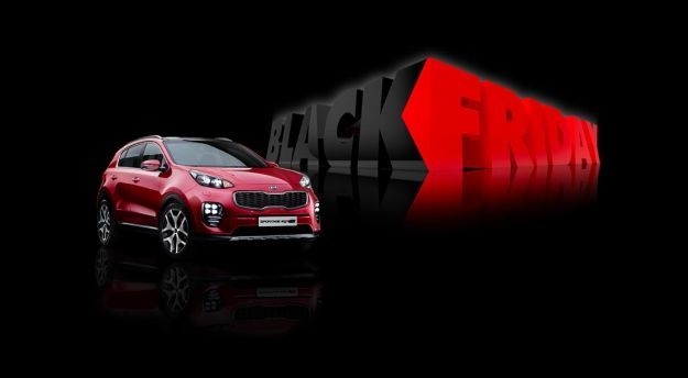 Kia Sportage Black Friday 2017