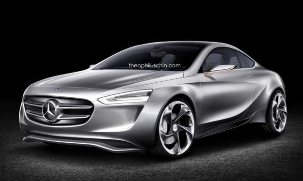 Mercedes Benz Classe A coupé rendering 1