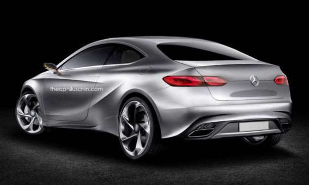 Mercedes Benz Classe A coupé rendering 2