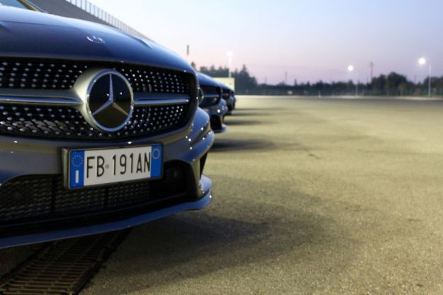 Mercedes CLA e CLA Shooting Brake Night e Dark Night evento primo contatto_19
