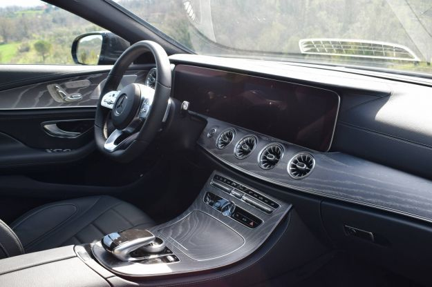 Mercedes CLS 400d interni