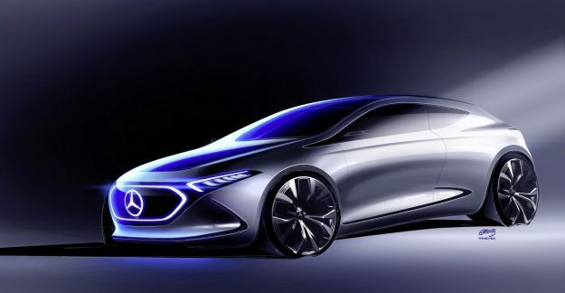 Mercedes Benz Concept EQ A