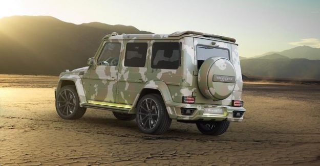 Mercedes G63 AMG Sahara Edition by Mansory 2