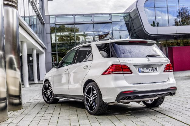 Mercedes GLE 450 AMG 4Matic posteriore