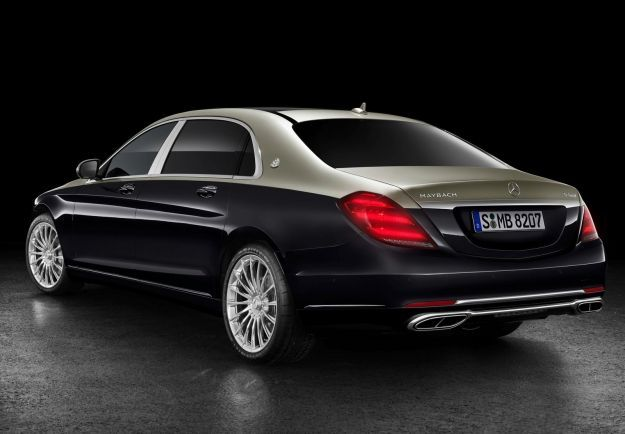 Mercedes-Maybach Classe S restyling 2018