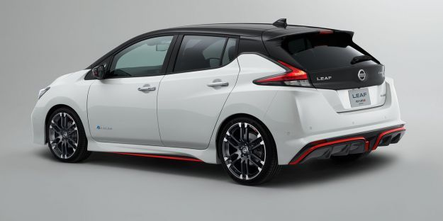 Nissan Leaf Nismo posteriore