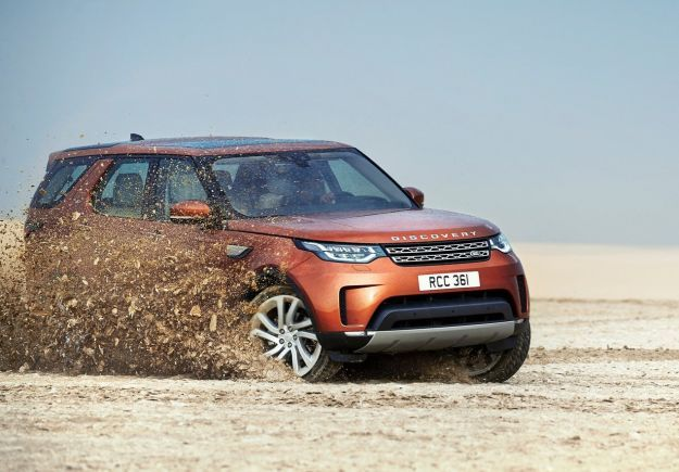 Nuove Land Rover 2017