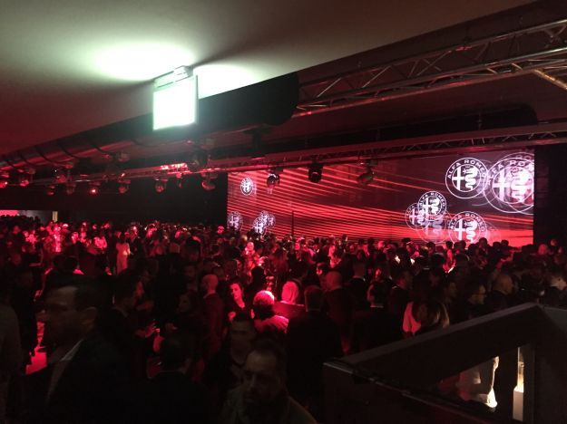 Party Alfa Romeo Giulietta Arese