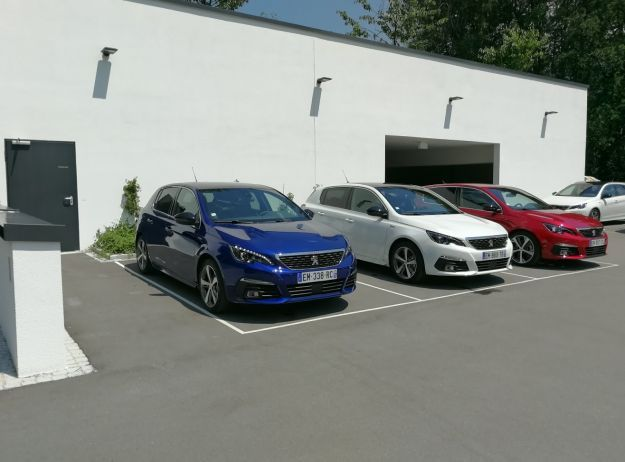 Peugeot 308 Restyling colori