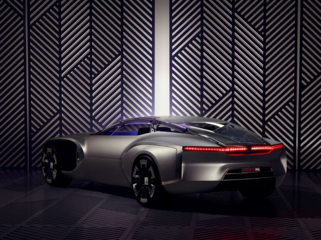 Renault Coupe C Concept posteriore