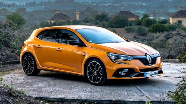 Renault Megane RS in uscita a maggio 2018