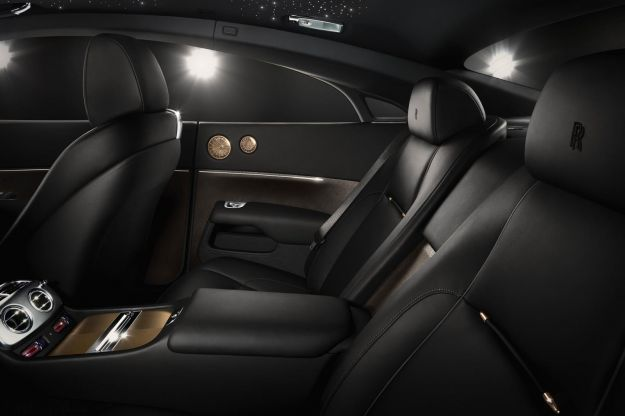 Rolls Royce Wraith Inspired by Music interni