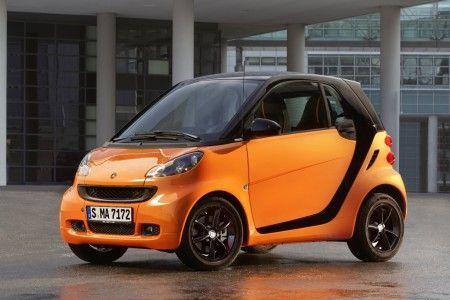 Smart fortwo Nightorange – Edizione limitata