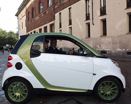 Smart fortwo electric drive a Mobilitytech