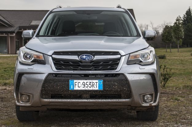 Subaru Forester 2016 design
