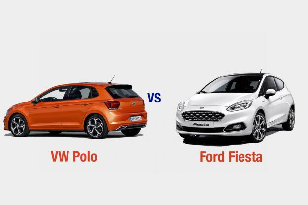 VW Polo vs Ford Fiesta esterni