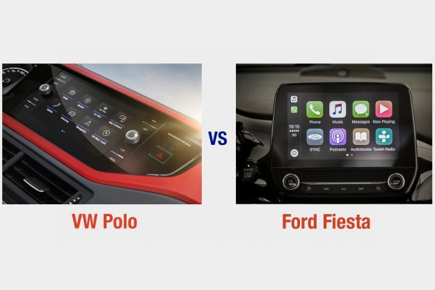 VW Polo vs Ford Fiesta