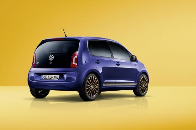 Volkswagen Color Up! posteriore