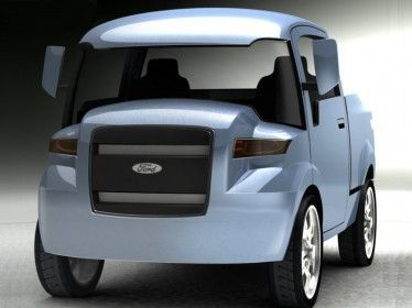 Ford Small Truck, strano camioncino? no, versatile pick-up cittadino