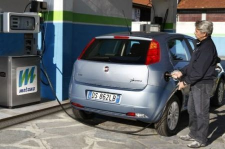 Auto a metano, in Italia +78%