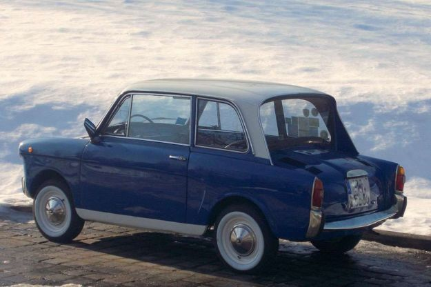 autobianchi bianchina berlina design