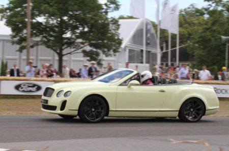 Bentley Continental Supersports Convertible a Goodwood
